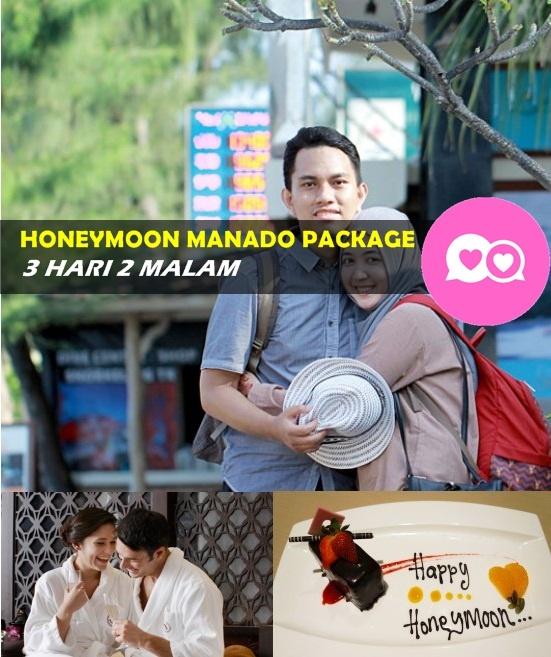 paket wisata honeymoon bulan madu manado bunaken