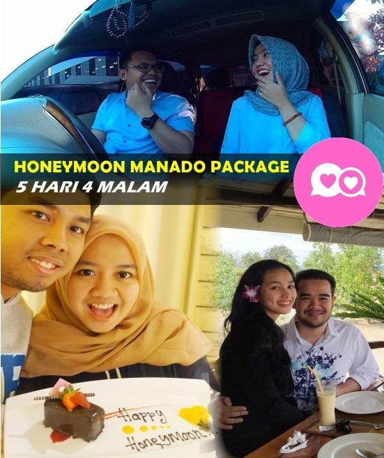 paket wisata manado bulan madu honeymon bunaken