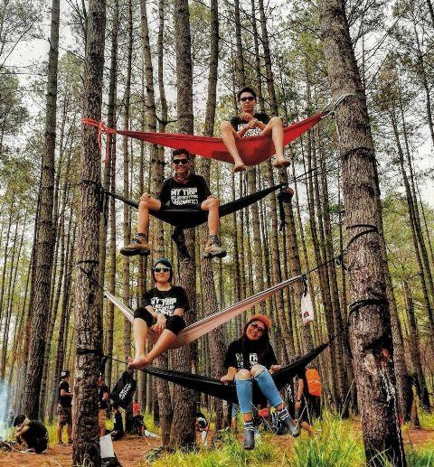 paket camping manado hutan pinus soputan